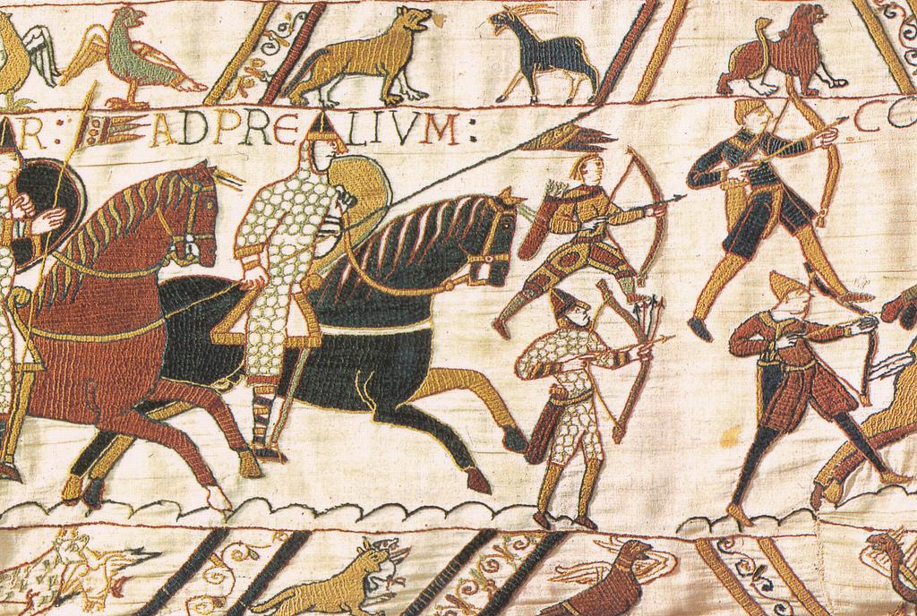 bayeux işlemesi kilim okçu tarihi